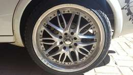 "17"" Mags with Brand new tyres"