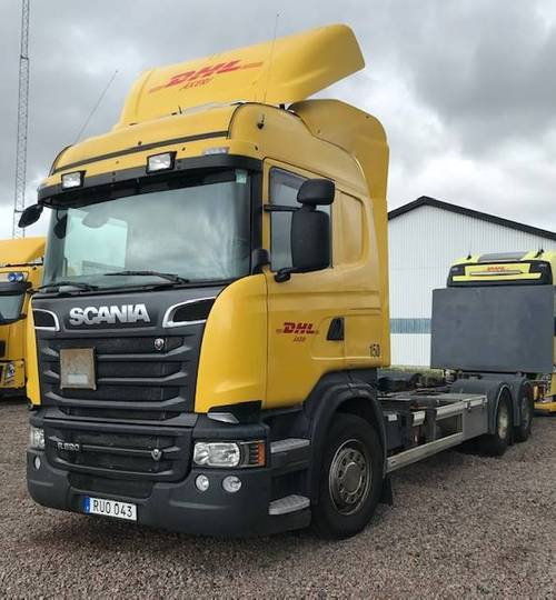 Scania R520 Lösflaksbil Lagab Påbyggnad ( 101160 ) - 2014