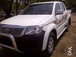 """""""RUGGED and COOL"""" 2012 Toyota Hilux (High Jack) up for grabs!"""