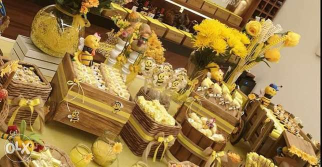 Table for Events - Chocolate table