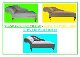 Brand New Relaxing Chaises With Half Side Arm For Sale From R 1,849.00