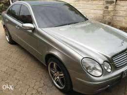 Mercedes Benz E240,2004,2400cc,auto,petrol,alloy,vclean at only 1.29m
