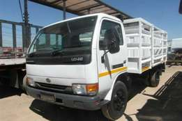 Nissan Cattle body UD40 Cabstar Highside Truck