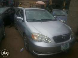 Neatly used 05 registered corolla for sale.
