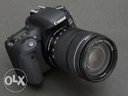 Canon 100d 18mp touchscreen display