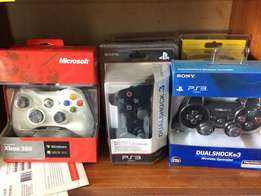 PS2, PS3, X BOX and PC gamepads