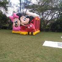 Bouncing castles, waterslide,trampoline, cotton candy, for hire