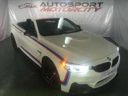 2016 BMW M4 Convertible competition