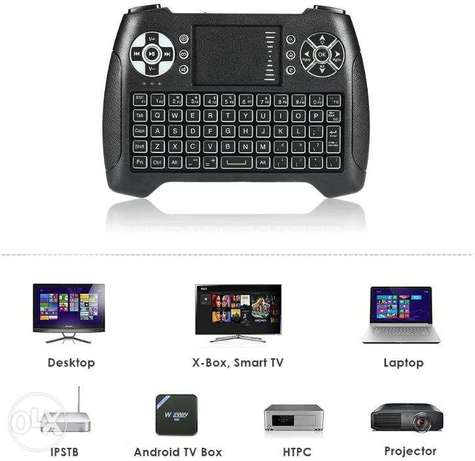 T16 Wireless Touchpad Mini Keyboard Backlight with Touchpad 2.4GHz