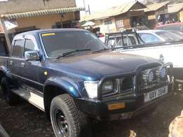 Good hilux double cabin