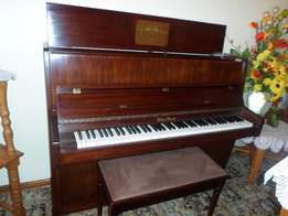 Otto Bach Upright Piano - Excellent condition