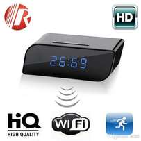 Nanny Camera, Hidden Camera, Wifi Camera, CCTV, Table Clock Camera