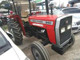 Brand new MF 240 with free plough.