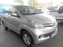 2015 Toyota Avanza 1.5 sx For cash only!! R155000