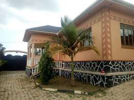 Brand new 3 bedroom stand alone house for rent in Seeta-Mukono at 600k