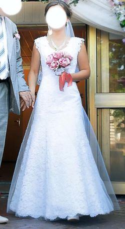 Свадебное платье невенчаное   весільна сукня невінчана Львів - зображення 1 c7f2f6c04d407