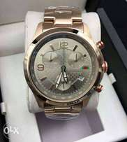 Gucci rosegold chronograph wristwatch