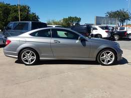 2012 Mercedes Benz C250 BE Coupe A/T