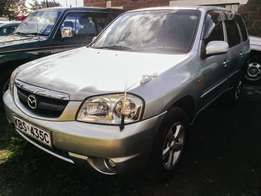 Mazda Tribute SUV - Petrol Automatic, very clean/low kms