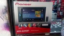 Pioneer AVH-A205BT, with warranty, free delivery within Nairobi cbd.