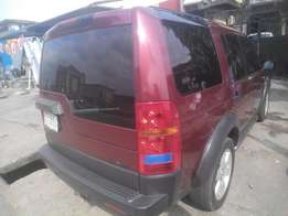 fairly used 2005,LR3,istbody,wine color,leathr seat,buy n use
