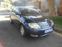 2006 Blue Toyota Corolla 1.4i Sedan for sale