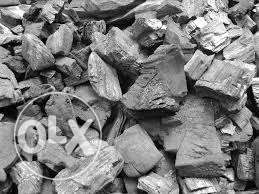 Charcoal in large quantity