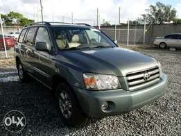Toyota Highlander Limited V6 2005 Grey