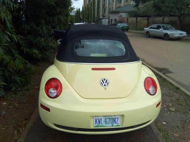 2006 Used Volkswagen Beetle Convertible for sale... Lugbe - image 7
