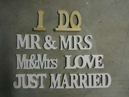 Cool Wedding Signs - 9 pieces