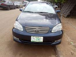 super clean Toyota corolla sport 2004 model first body for sale