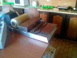 Wrapper for Sale including plastic roll