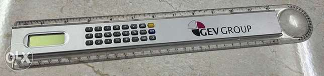 30cm scale with CALCULATOR الرياض -  2