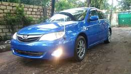 Subaru Impreza Sportswagon 2010 Model Metallic Blue