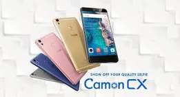 Tecno Camon CX Brand New in shop with 1yr warranty at 17500