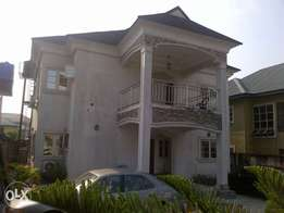 World CLASS Standard 4 Bedroom duplex for sale at Peter odili Rd pH