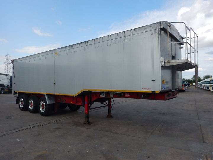 Weightlifter 65 CU-YD PLANK SIDED BULK TIPPING TRAILER - 2010 - C317096 - 2010