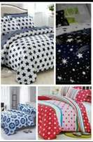 5*6 cotton duvets with 1 bedsheet and 2 pillow cases.