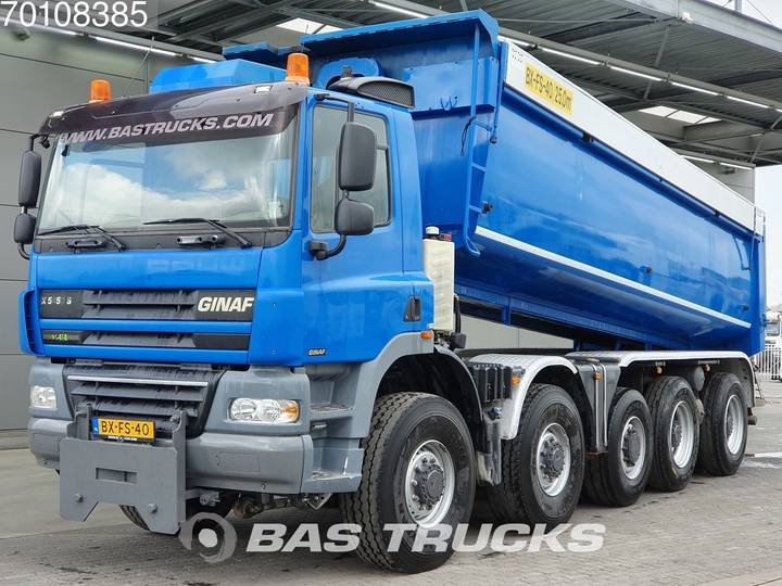 Ginaf X-5450-S 10X8 NL-Truck Perfect-condition! Wide-spread Euro 5 - 2009
