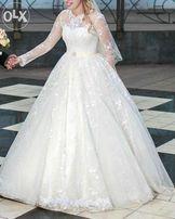 Весільні сукні Апостолове  купити весільне плаття бу - дошка ... ab35af9b7aacc