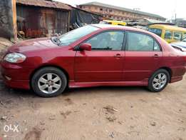 2003 Toyota corolla, sports,very clean