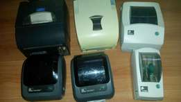6x barcode sticker printers asking R5000 for the lot