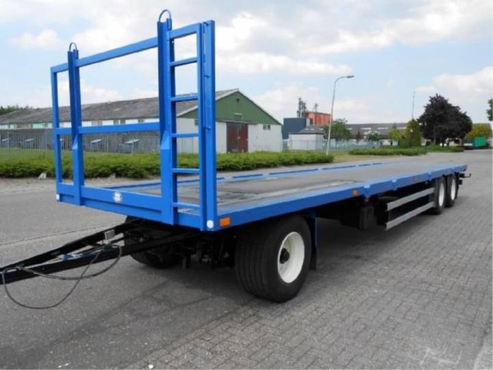 Schmitz Cargobull 30 ton MEGA - 2001