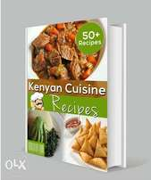 Kenyan Cuisine ebook on offer 50/-