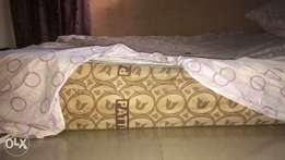 Clean and neatly used High Family size Mattress