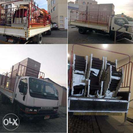 six wheel for rent delivery & shifting moving services 10 bd per trip