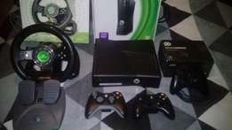 XBOX360 S - 500gig HD with extras