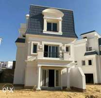 Separated villa for sale in mountain view chell out park semi finished