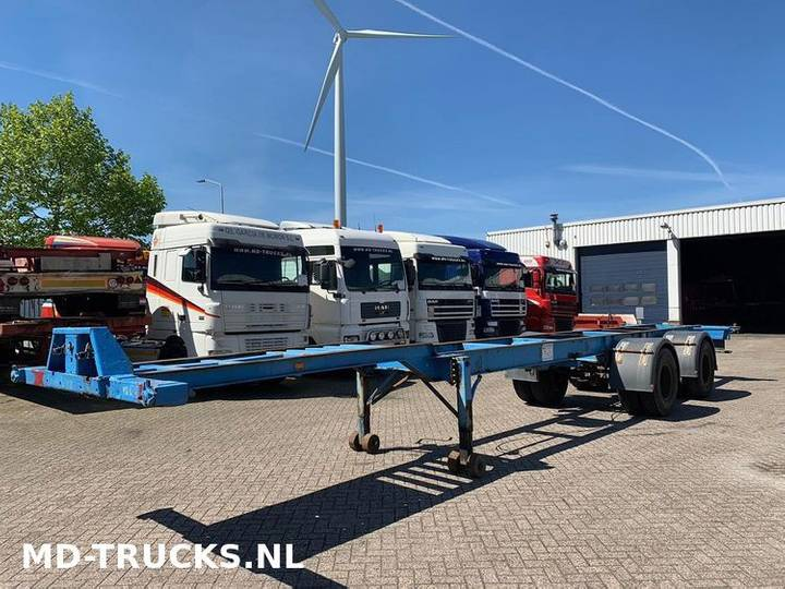 Trailor  container chassis 2 axle - 1970