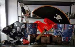 Pirate Party accessories never been used.